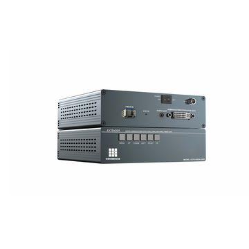 Fiber optic extender,multi-format signal up to 2km