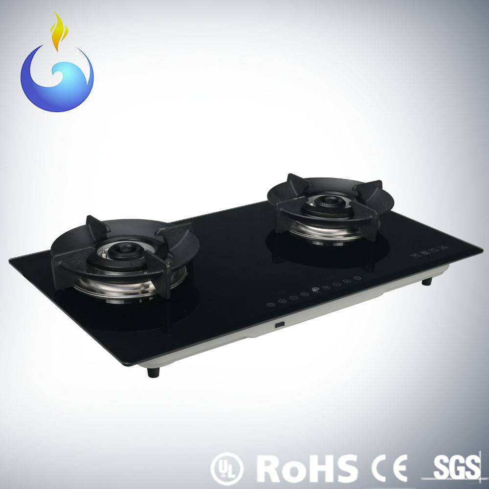Vogue design gas oven with fan type heat dissipation