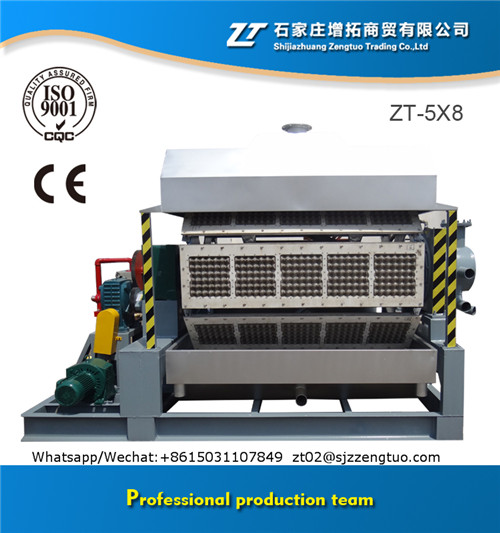 High Output Automatic Paper Egg Tray Machines Production Line