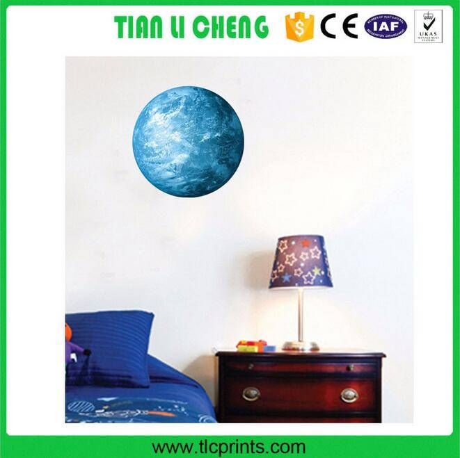 Luminous Night Moon wall sticker kids Glow in the Dark Great Gift and Home Decoration for Kids Bedro