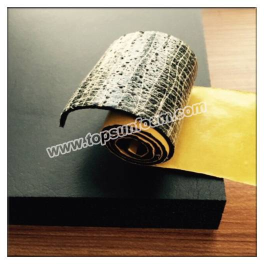 Closed Cell Open Cell NBR/PVC Foam for Automotive Tape