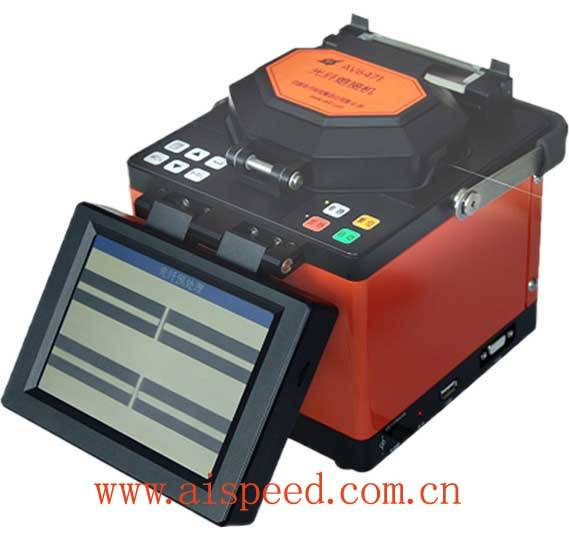 CETC AV6471 Optical Fiber Fusion Splicer(China, low price good quality,longlife electrodes,low splic