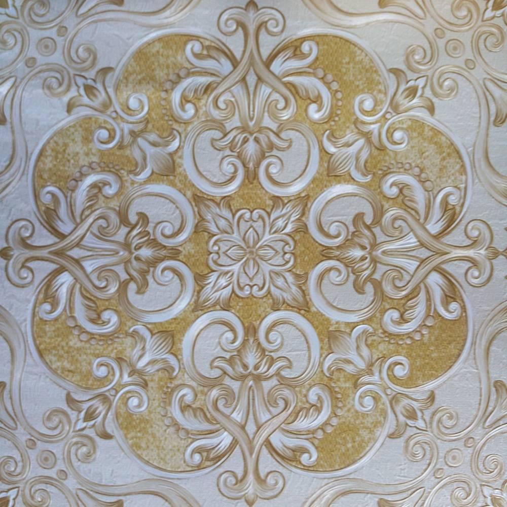 New Arrivals Hot Sales Deep Embossed Vinyl Wallpaper 1.06m For Hotel Home Decoration Design