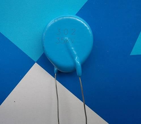 40KV 100PF 500PF 1000PF CT81 Leaded High Voltage Disc Capacitor 40KV 101 501 102