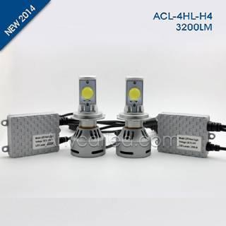 4HL 3200LM H4W LED Light Bulb DC12-24V with CE,RoHS