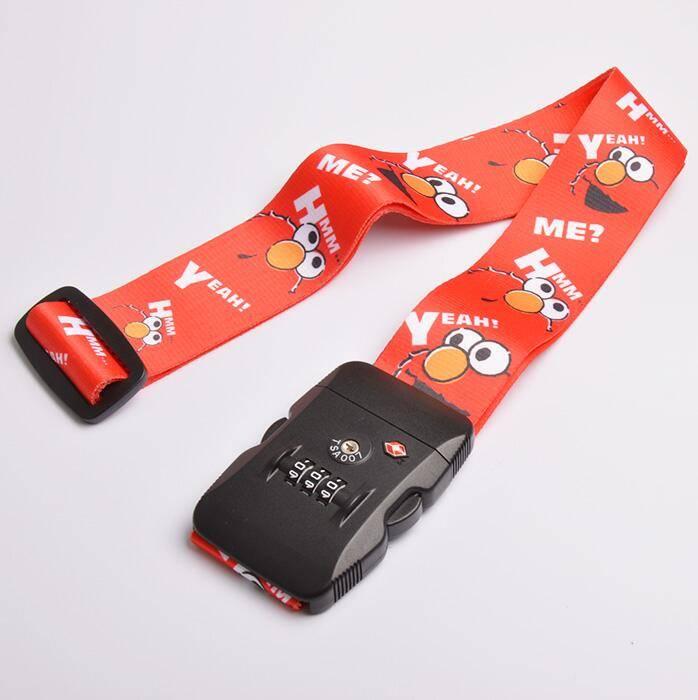 Fashion Candy Color luggage belt with TSA Lock Luggage Belt/ Adjustable Luggage Strap