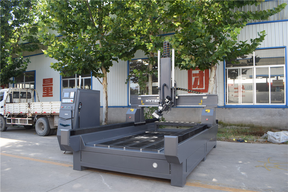 4 axis atc cnc router with spindle rotating 9KW atc spindle