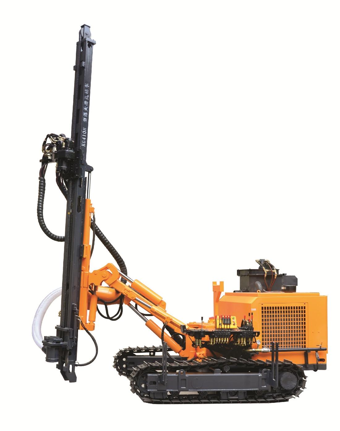 KG410/KG410H DTH drilling rig