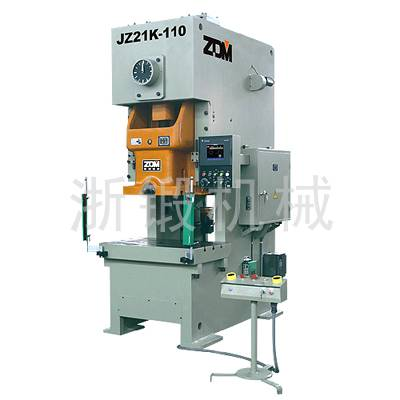 Series JZ21K NC Precision Quick-return Forging pressing punching mechanical press puncher machine