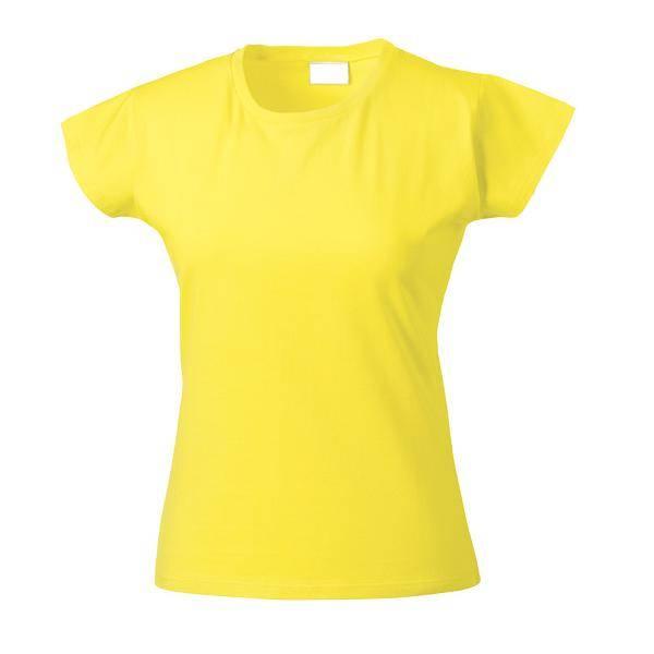 Women's blank round neck t shirt