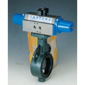 BUTTERFLY VALVE - SINGLE ACTING