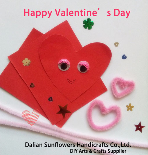 Valentine's Day DIY Craft Creative Card