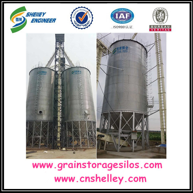 Used feed mill grain storage silo cost