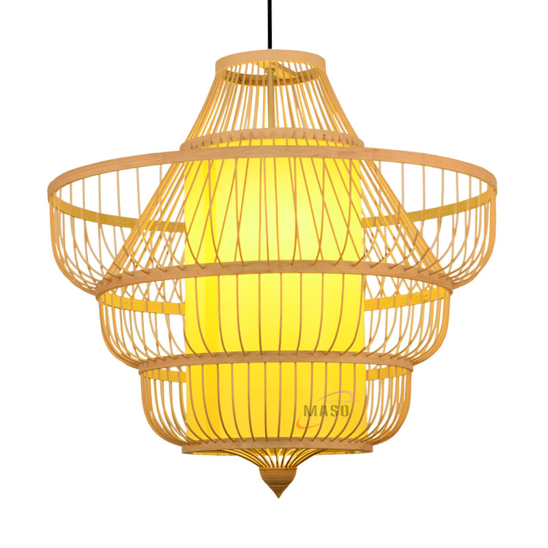 Natural bamboo product 2020 ceiling light pendant lamp