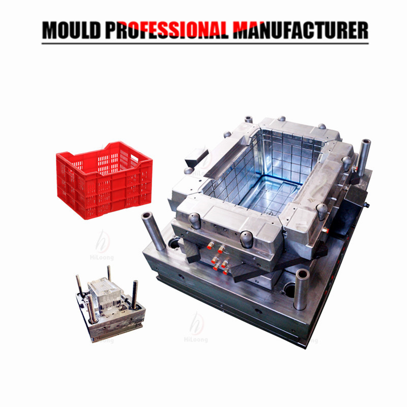 plastic injection mould crate mould
