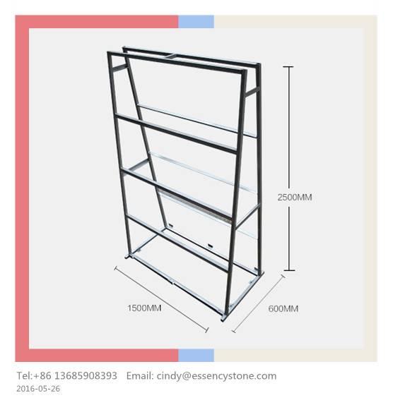 Sample Display Rack Stand, Granite Sample Rack, Stone Sample Rack Stand, Display Shelf