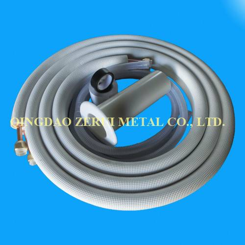 15m split connection line set, refrigeration tubing 1/4+3/8