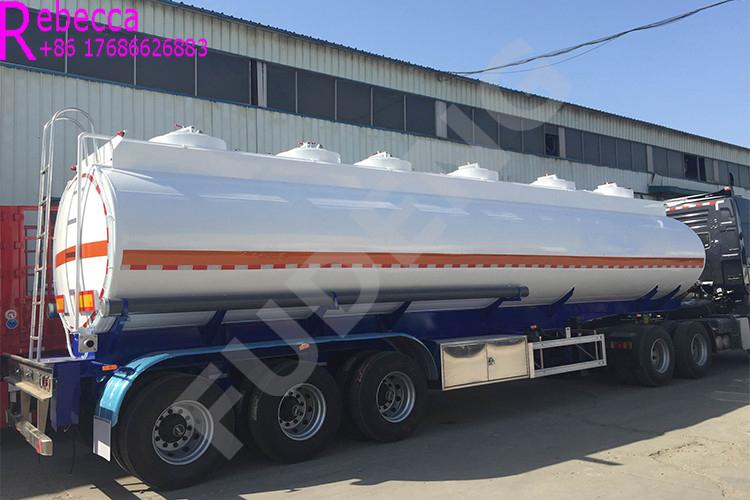 3 axle 45000L fuel tanker semi trailer fuel oil tank truck trailer