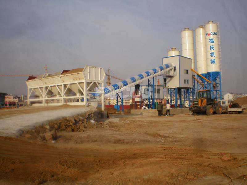 HZS60 Concrete Batching Plant For Sale,Concrete Batching Plant Price