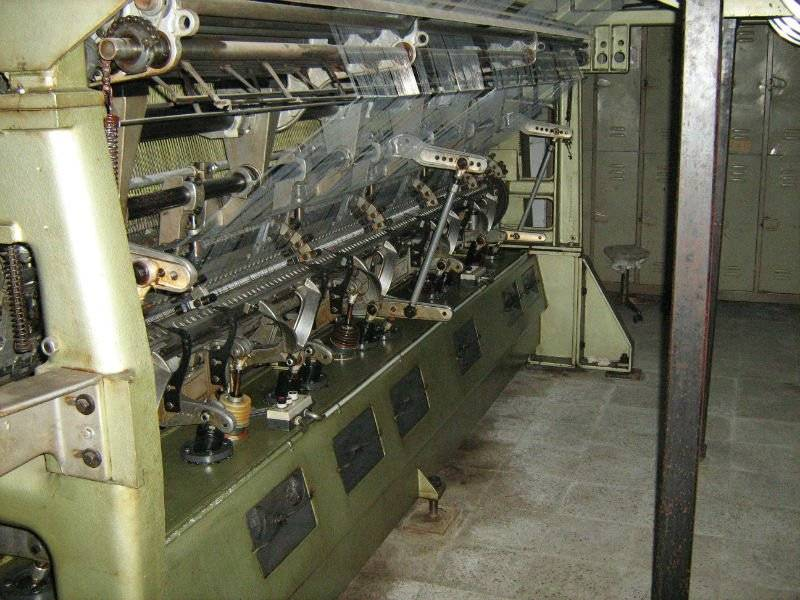 Jacquard mechanic machinery; Karl Mayer RJG 5F NE