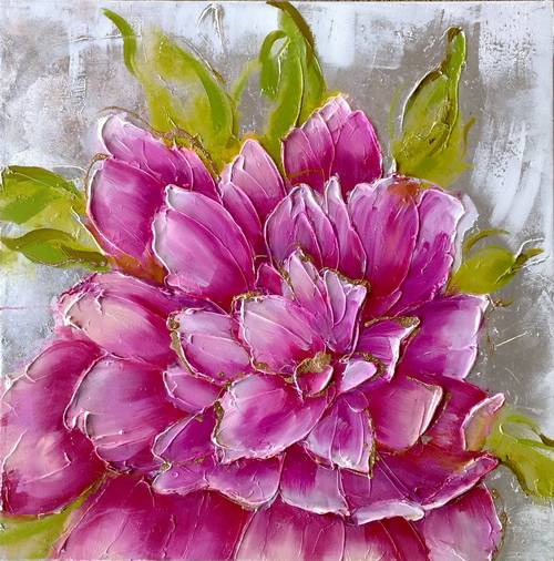 handmade oil painting for home decoration