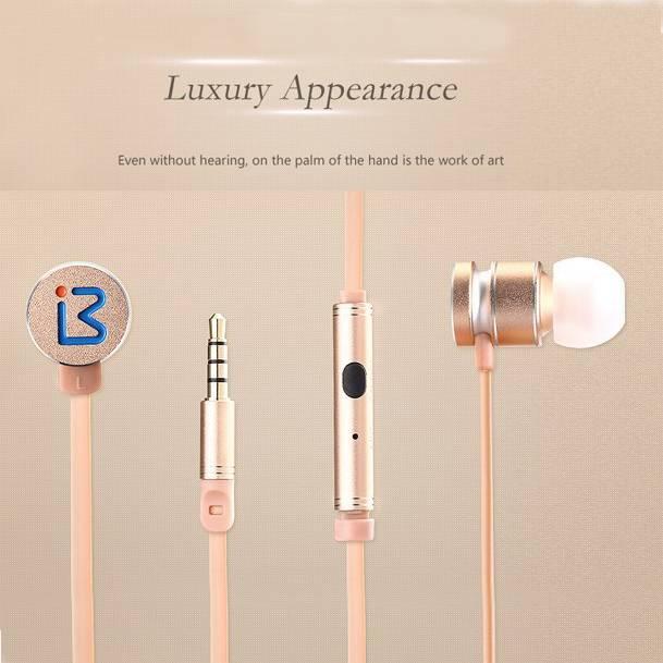 Hot selling headphone BENWIS EPM-200 headset In-ear Metal Earphones