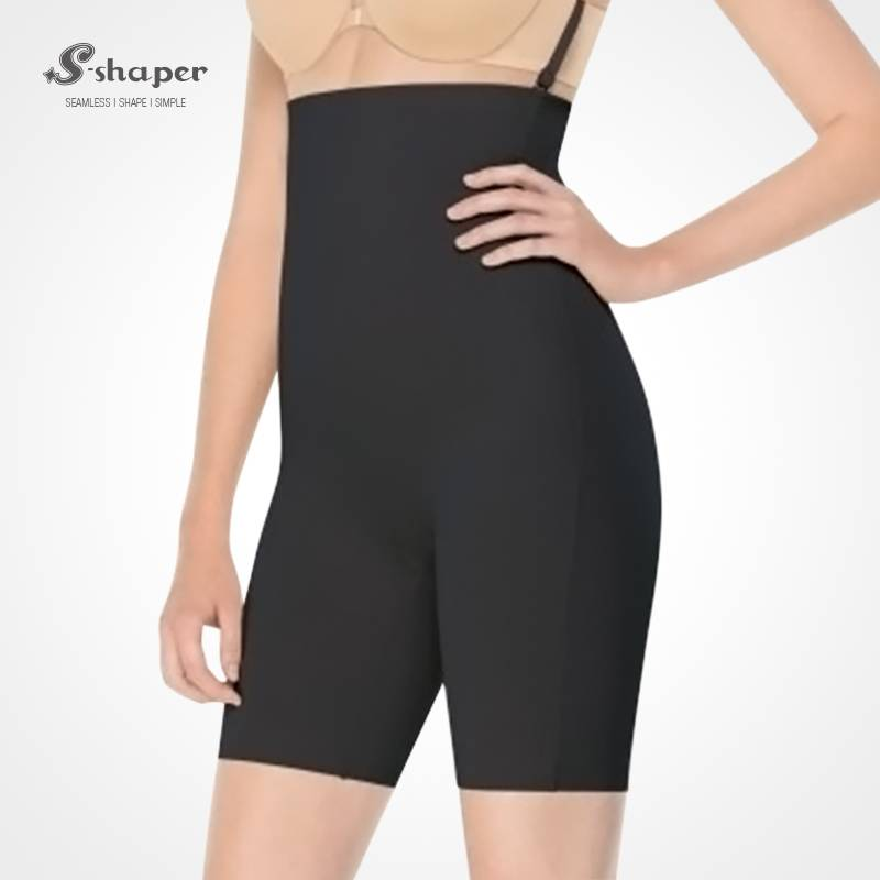 S-Shaper Seamless Women Body Shaper Brief High Waist Belly Control Shapewear Shorts