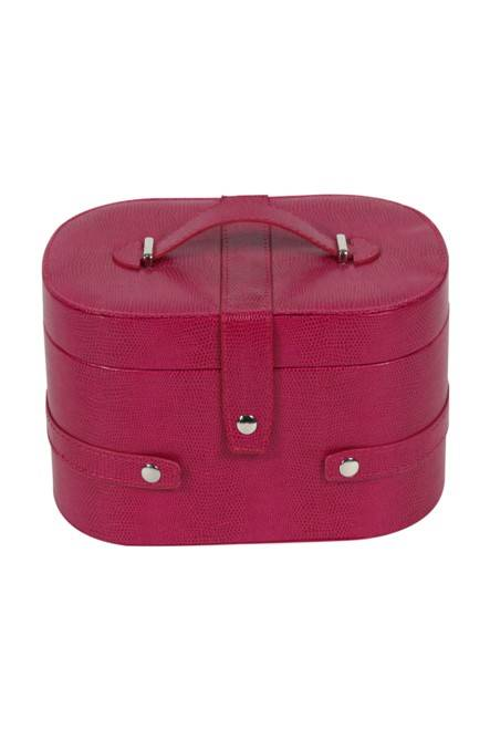 Leather Cosmetic Box, dressing case   Cosmetic Jewelry Box