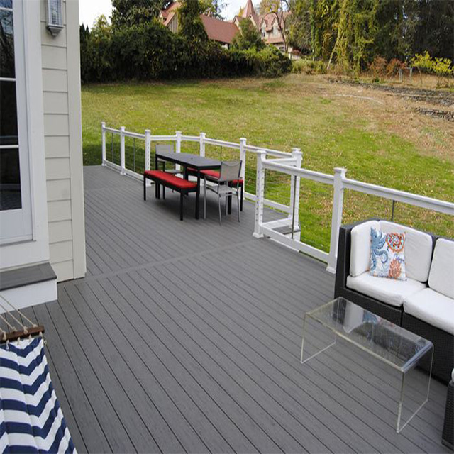 Outdoor WPC Decking Balcony Tile For Terrace
