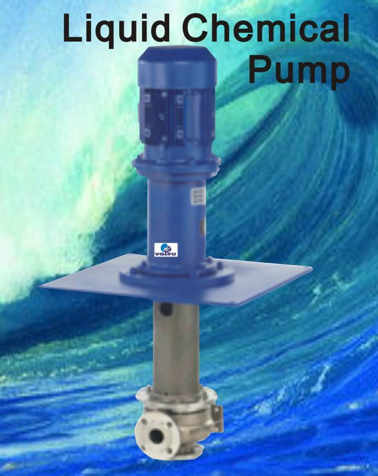 Submerged type chemical pump