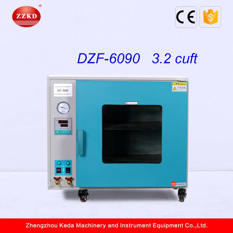 CE Confirmed Digital Display Vacuum Dry Oven/Vacuum Drying Method