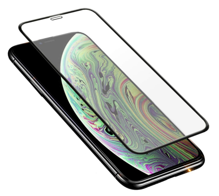 3D Curved Edge screen Protector Tempered Glass for iPhone XS MAX