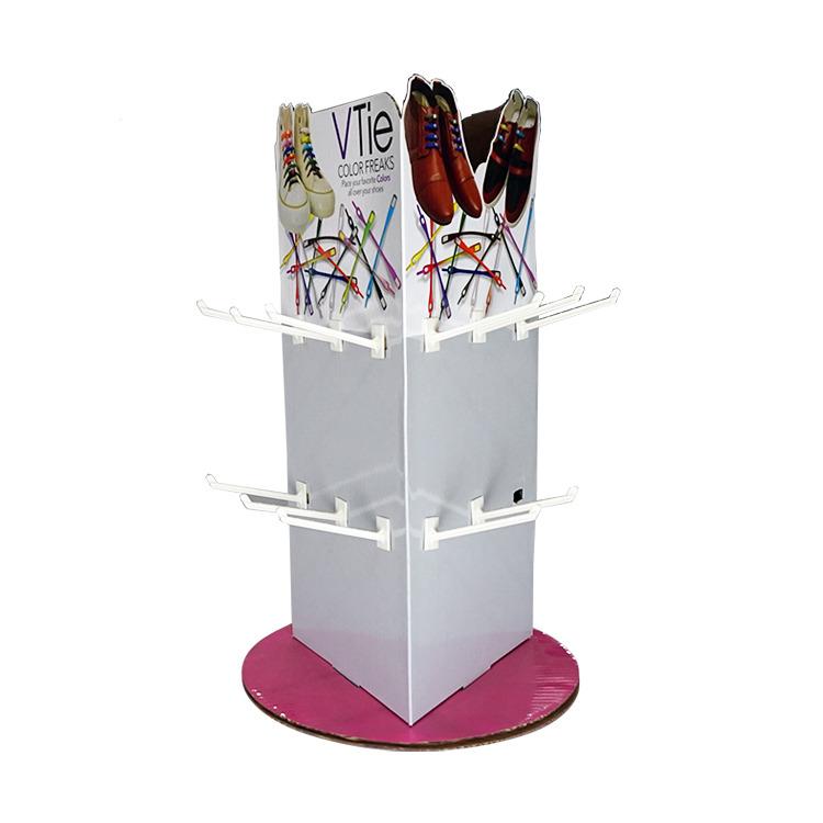 Cool Custom Table Top Cardboard Pdq Rotating Socks Display Stands Download Free Architecture Designs Oxytwazosbritishbridgeorg
