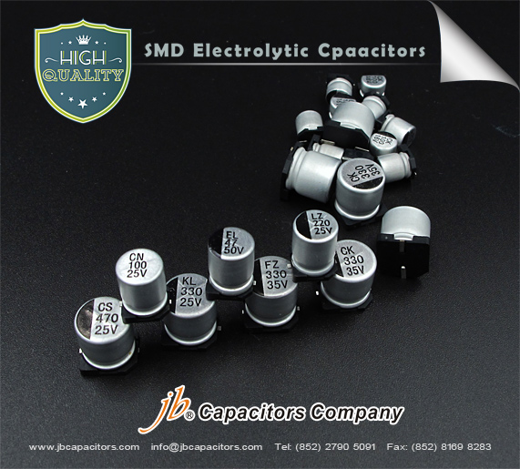JCK - 1000H at 105°C SMD Aluminum Electrolytic Capacitor