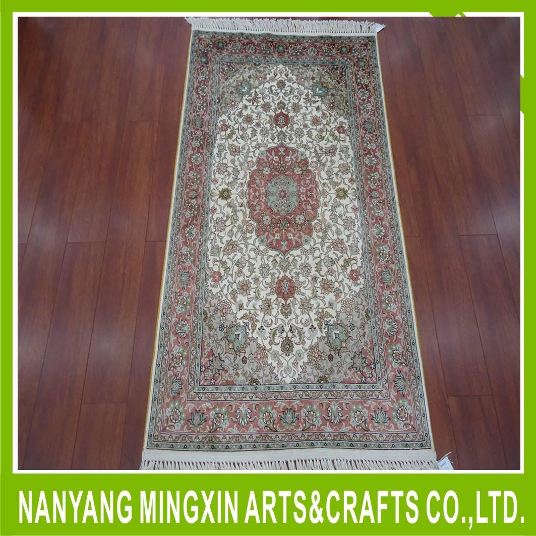 Kashmir Silk Carpet, Customized Design Kashmir Silk Carpet