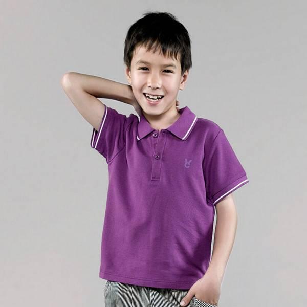 Supply Kindergarten Kids T -shirt custom Polo Children's T-shirts OEM