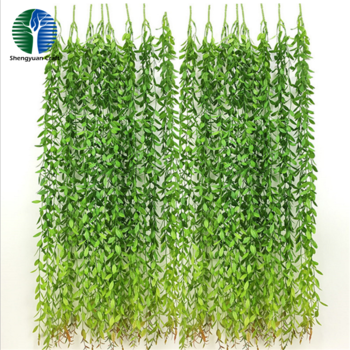 China manufacturer long artificial willow leaf