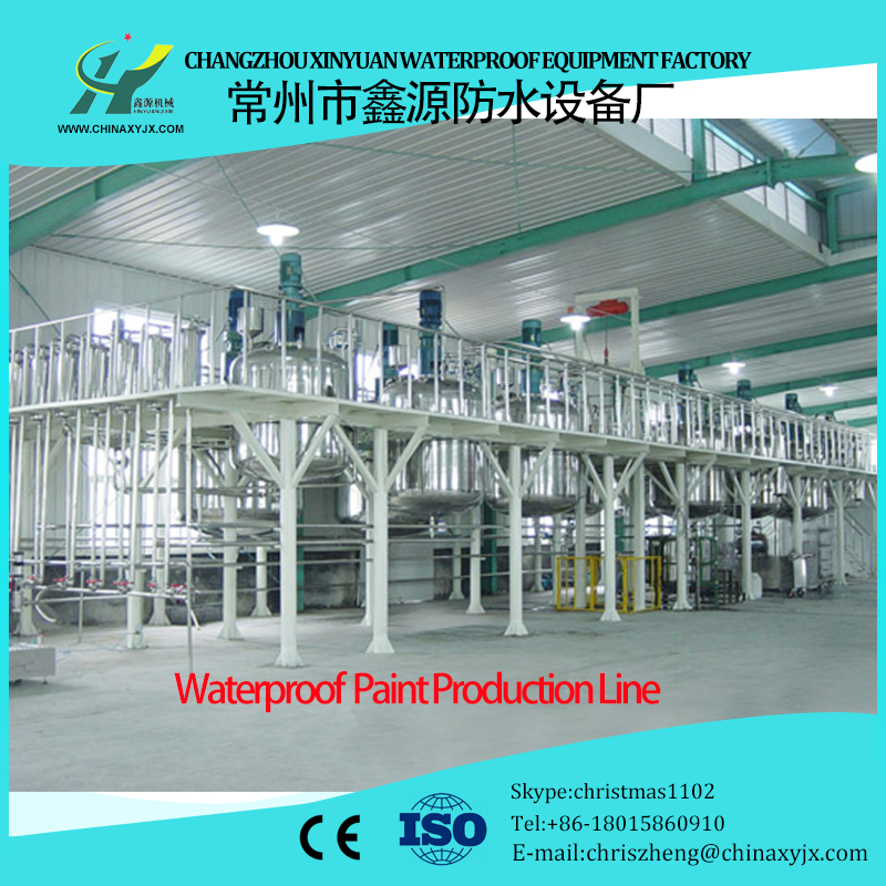 Polyurethane waterproofing paint making machine