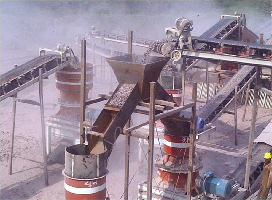 CRUSHER PLANT 250-300 T/H