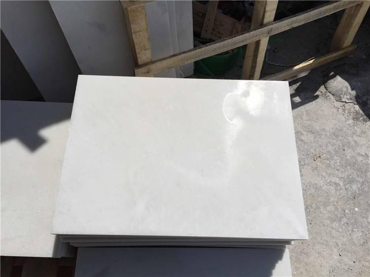 snow white marble tiles & slab