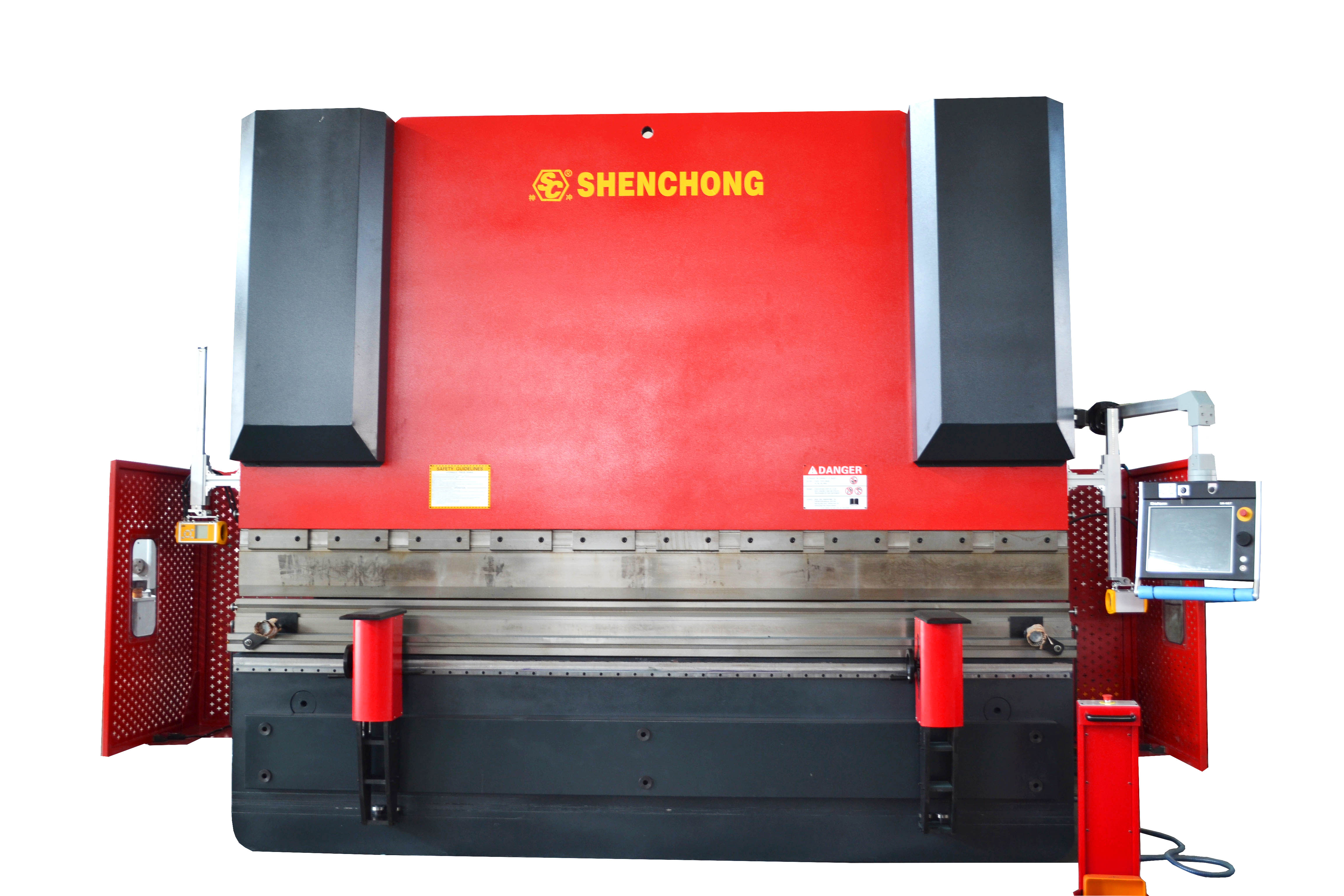 CNC hydraulic press brake 400T4000 DELEM 66T for sheet metal fabrication