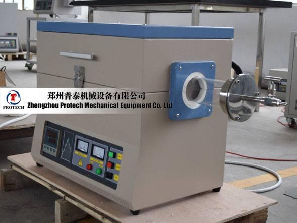 Protech large diameter lab vacuum tube furnace