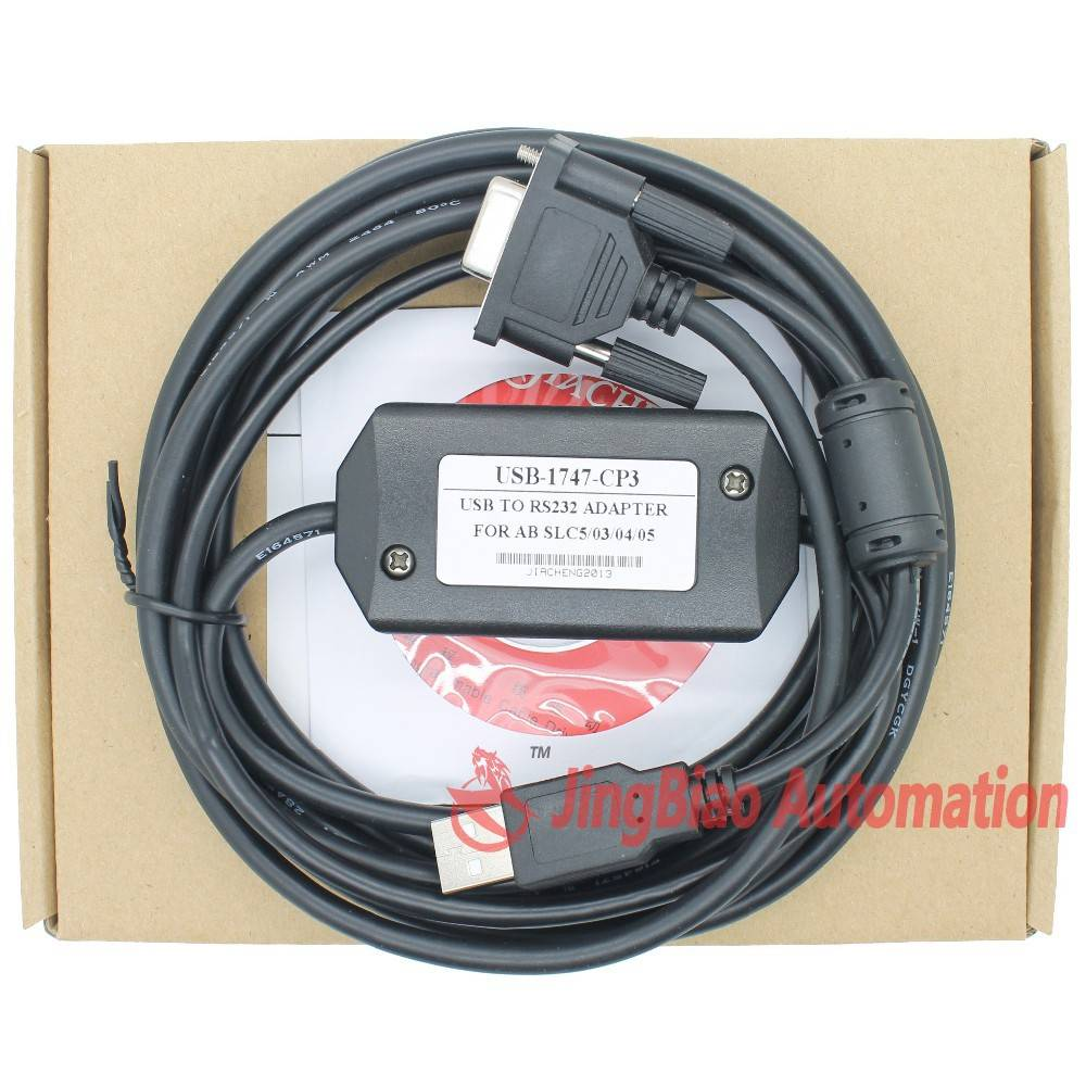 Wholesale USB-1747-CP3, usb programming cable for slc500 Series USB 1747 CP3,support online sale