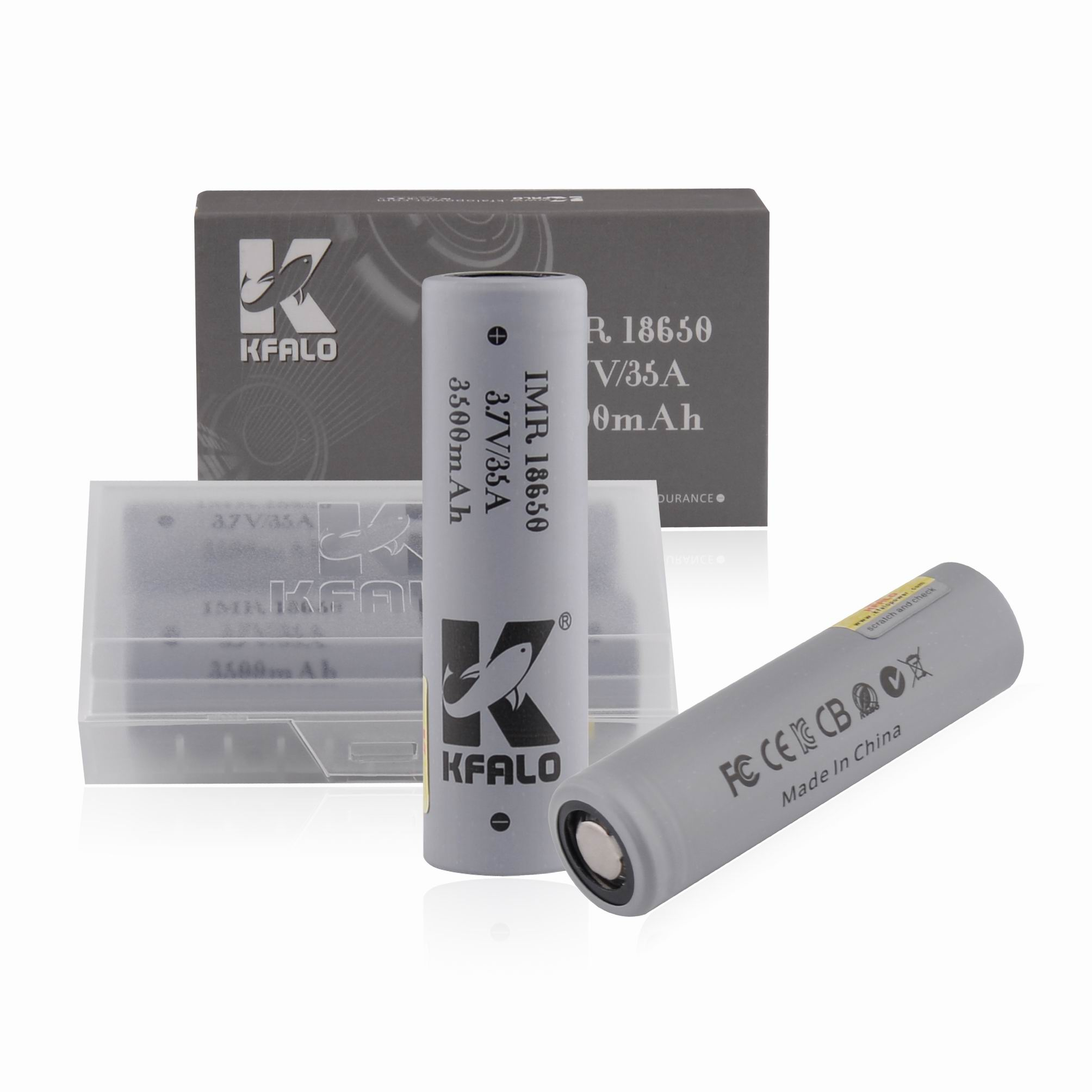 KFALO 18650 3500mAh 35A Li-ion battery for Ebike