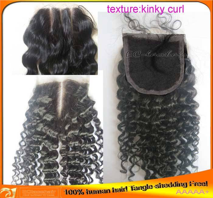 Wholesale Indian Brazilian Virgin Human Hair Kinky Curl Lace Top Closure,Factory Price Distributor