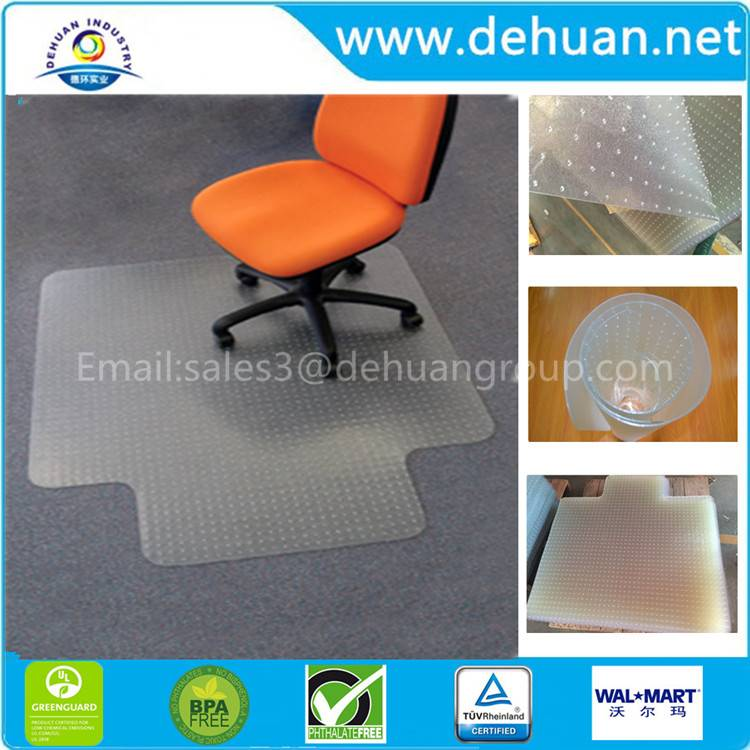Furniture table and Chairs pvc Mat with grippers/nails