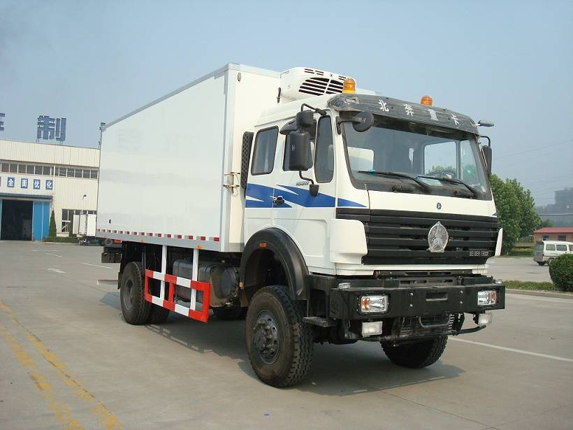Beiben refrigerator truck 4x2, North Benz, Mercedes-Benz techonology