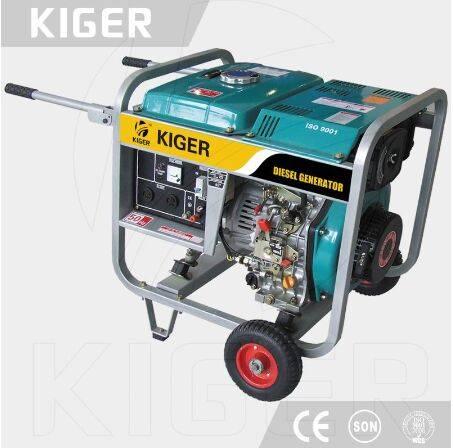 5kw KG6000LE diesel generator set