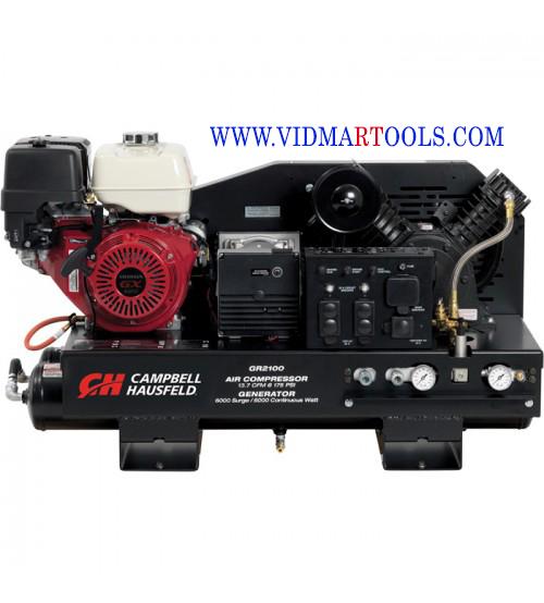 Campbell Hausfeld 3-in-1 Air Compressor/Generator/Welder with Honda Engine