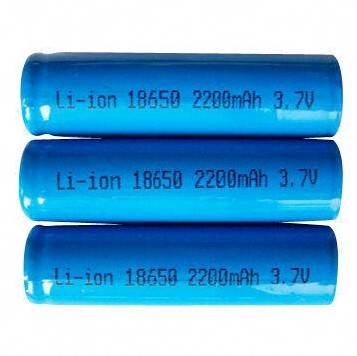 ICR 18650 Rechargeable Batteries, Excellent Cycle Lifespan, 2,800mAh Capacity, 3.7V Voltage ICR 1865